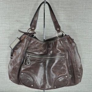 Prada Original Car Shoe Bag in Brown